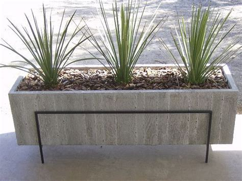 concrete planter boxes design  concrete planter boxes