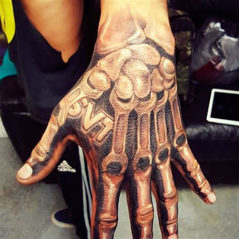 hand bone tattoo 30 designs ideas design trends premium
