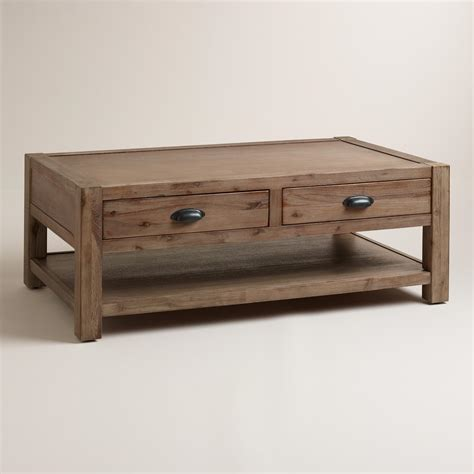 market coffee table wood quade coffee table market