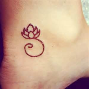 Small Lotus Flower Simple Small Lotus Flower On Foot Tattooimages Biz