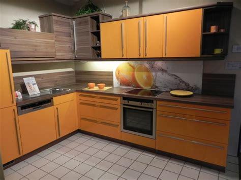 k 252 che k 252 che orange hochglanz k 252 che orange in k 252 che - Einbauküche Schwarz Hochglanz