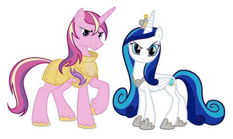 my little pony princess cadence shining armor shining armor and princess cadence kolors by medivin w on