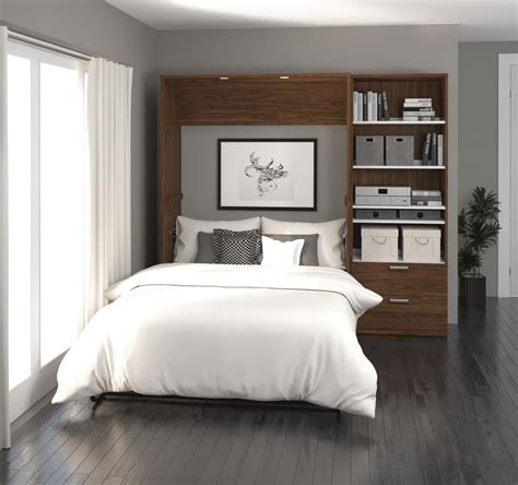 full wall bed wallbeds 89 full wall bed bestar
