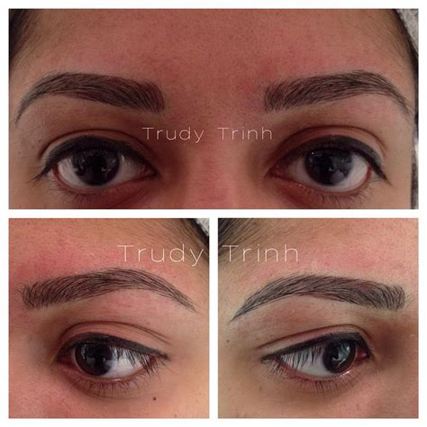 tattoo eyebrows toronto 21 best images about semi permanent eyebrow hairstroke