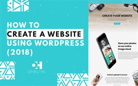 tutorial create website using wordpress how to create a website using wordpress 2018 ultra