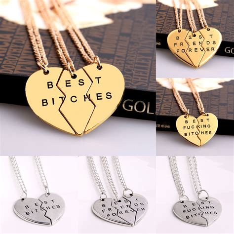 Ee  Best Ee  Es Forever Chain Pendant Necklace Gifts Bff