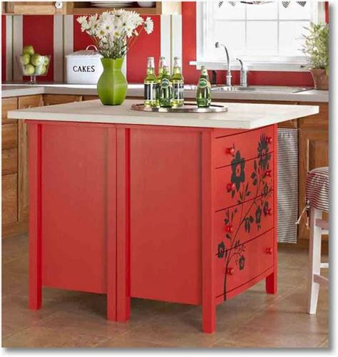 creative kitchen ideas kitchen island from dresser ano
