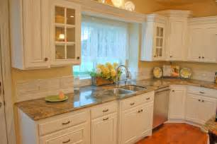 Backsplashes For Kitchen country kitchen backsplash idea with luxurious marble kitchen counter