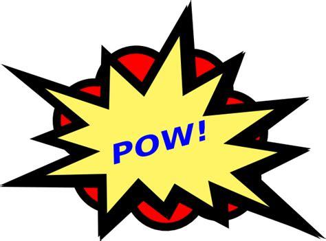 Pow Clipart pow clip at clker vector clip royalty free domain