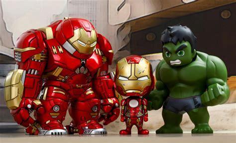 Original Kotobukiya Vs Hulkbuster Set age of ultron vs hulkbuster cosbaby collectible set