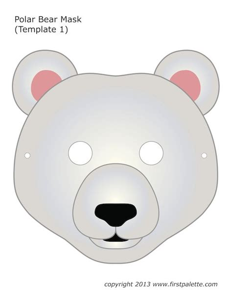 printable panda mask template 27 best images about masks for pust on pinterest free