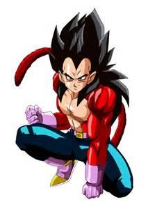super saiyan 4 vegeta recolor goku hair xxextremesamx deviantart