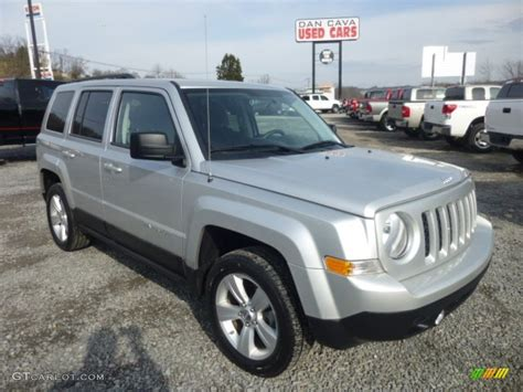 Jeep Patriot Silver 2012 Bright Silver Metallic Jeep Patriot Latitude 4x4