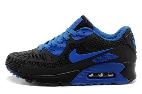 are air max 90 running shoes nike air max 90 kpu royal blue black mens athletic running