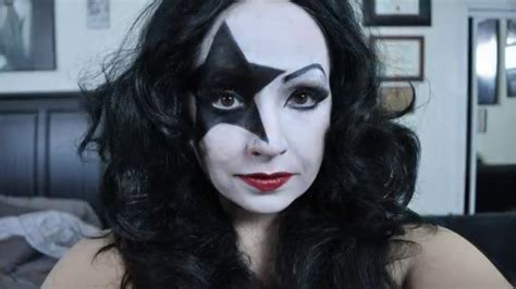 kiss makeup tutorial paul stanley kiss makeup tutorial saubhaya makeup