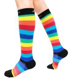 110 colorful compression socks which make compression