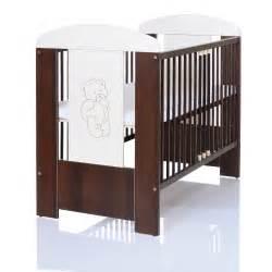 babybett mit matratze babybett kinderbett 120x60 gitter creme braun mit matratze