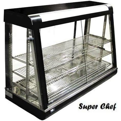 Heated Food Display Warmer Cabinet by New Heated Food Display Warmer Cabinet 48 Quot Glass On
