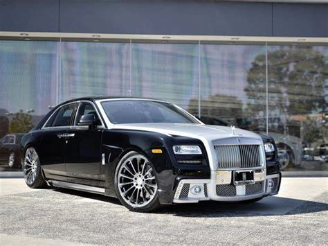 Foto Tuners Wald Rolls Royce Ghost Black Bison Kit Rolls