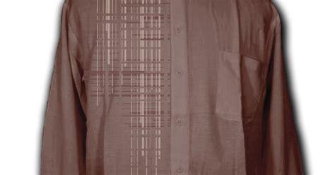 Baju Koko Motif Minimalis contoh motif bordir baju koko geometrik vertikal