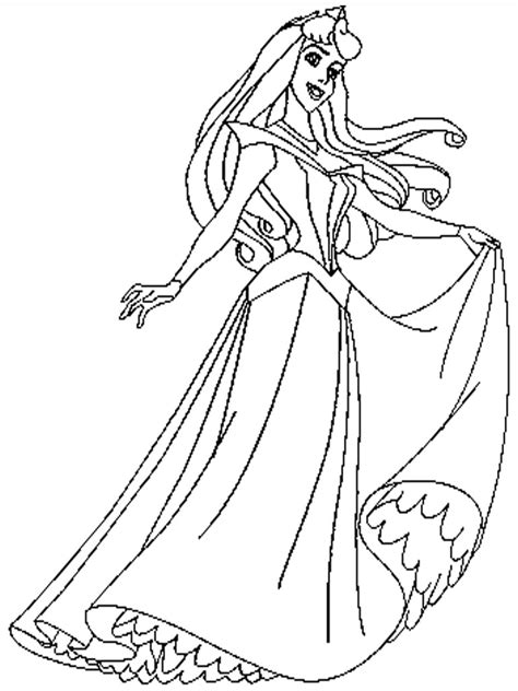 coloring pages of princess sleeping free printable princess coloring pages free printable