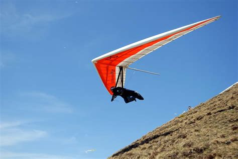 hang picture hang gliding central switzerland