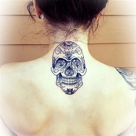 tattoo on back neck meaning 45 back of the neck tattoo designs meanings way to the