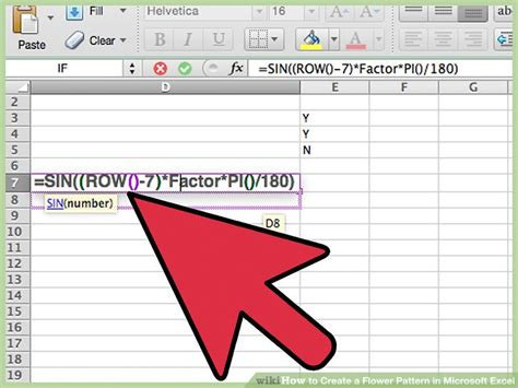 xsd decimal pattern exle how to create a flower pattern in microsoft excel with