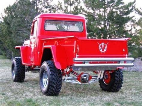 willys jeep truck lifted 1959 willys custom 4x4 lifted truck bad trucks
