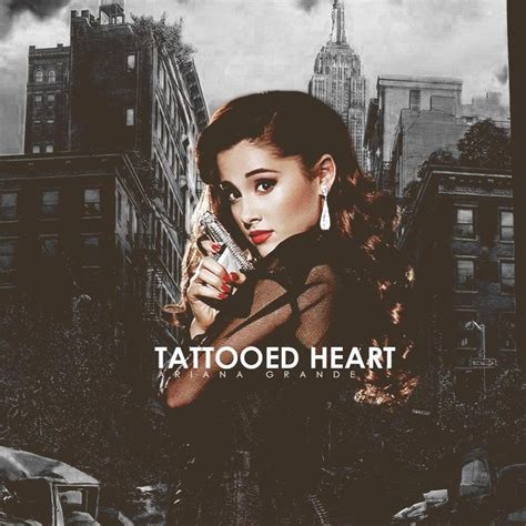 tattooed heart ariana grande best 25 tattooed grande ideas on