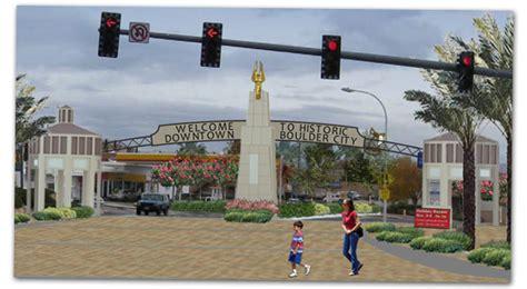 boulder city lights nevada way welcome gateway progress
