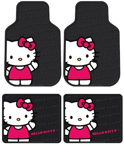 Hello Floor Mats For Cars by Licensed Hello Waving 4pc Floor Mats Front Rear