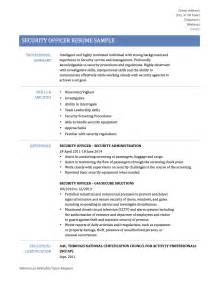 Security Objectives Resume Security Guard Resume Samples Templates Amp Tips