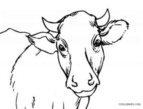 cow ears coloring page free printable cow coloring pages for kids cool2bkids