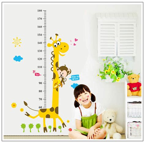 decorative wall stickers for rooms height chart home decor wall sticker decorative vinyl