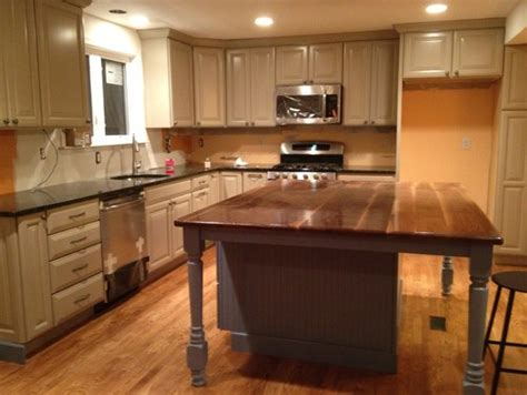 Dark Cabinets In Kitchen paint color for kitchen with taupe cabinets