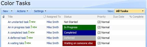 color code list items in sharepoint 2013 or office 365 list view sharepoint color coding sharepoint lists smartech force