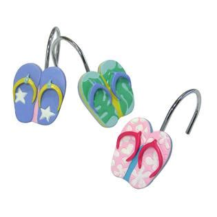flip flop bathroom accessories flip flop shower hooks home bed bath bath