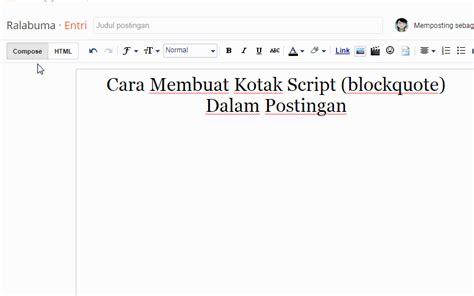 cara membuat script instagram panduan cara membuat kotak script ke dalam postingan blog
