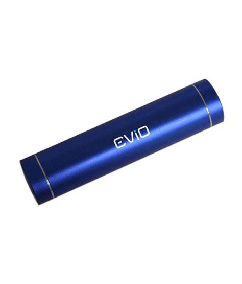 evio 2200 mah power bank blue power banks at