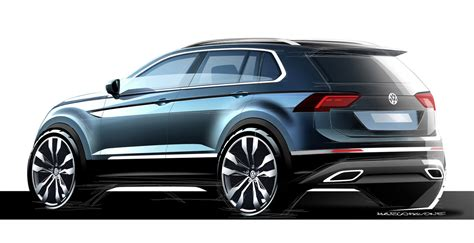 volkswagen models 2017 2017 vw tiguan is bigger more mature and more premium