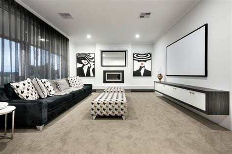 the avalon contemporary home theater perth by ben