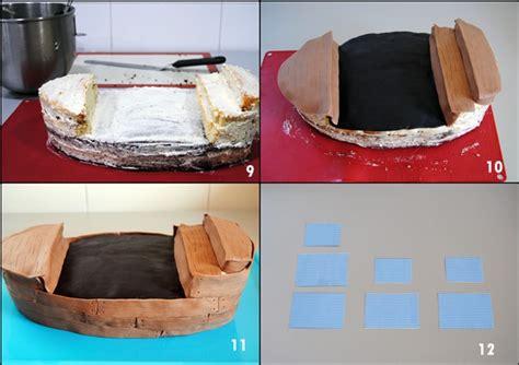 torta barco pirata utilisima tartas fondant magia en mi cocina recetas f 225 ciles de
