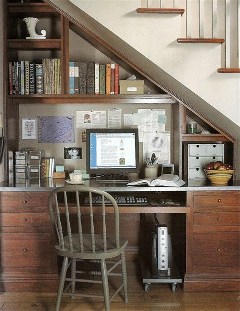 39 best images about desk under staircase on pinterest under stairs home office ideas the home office