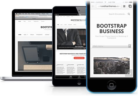 bootstrap themes corporate bootstrap business a free drupal theme based on the