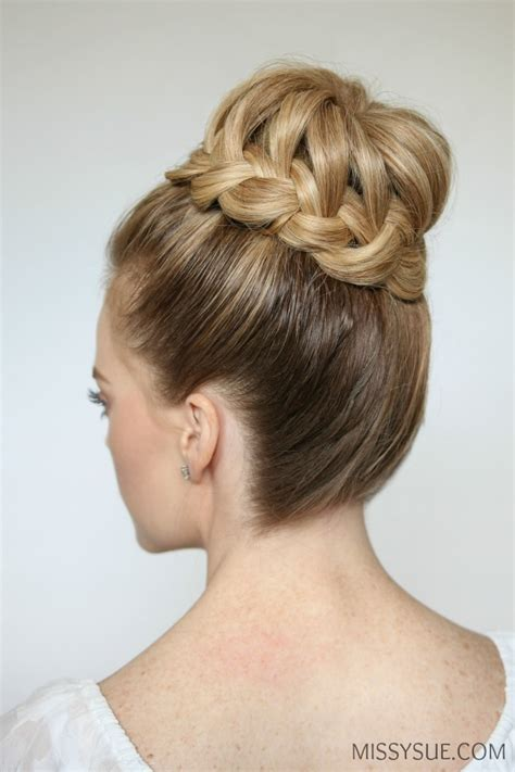 Braided Bun Hairstyles by Braid High Bun Sue