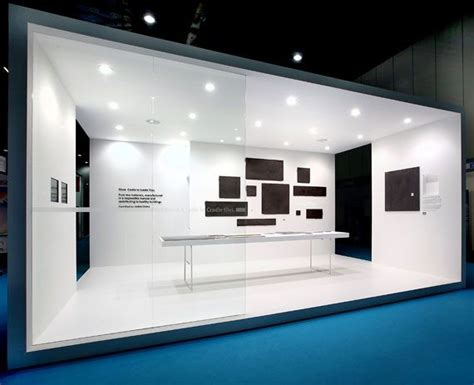 booth design london clean and minimal fair stand for royal mosa by dutch