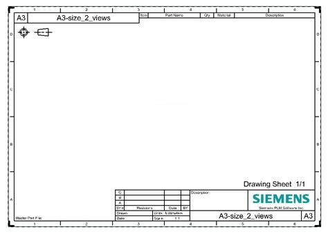 drawing templates for 4 best images of technical drawing format engineering