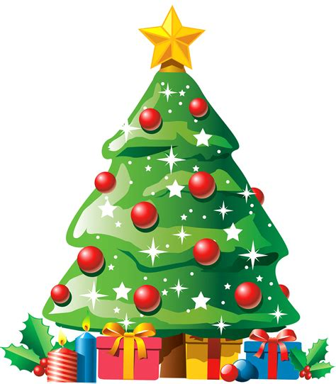 Christmas Tree with Gifts PNG Clipart - Best WEB Clipart Free Clipart Of Christmas Tree