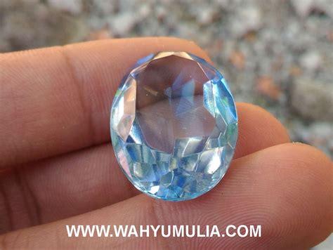 Batu Obsidian Kotak Blue Biru batu blue obsidian biru kode 420 wahyu mulia